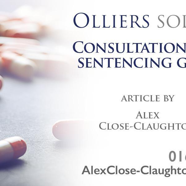 Drugs sentencing guidelines