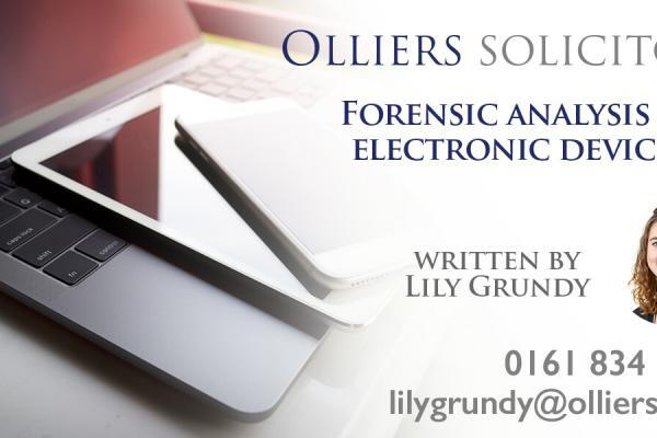 forensic analysis electronic devices